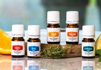 Detox nit ätherischen Ölen